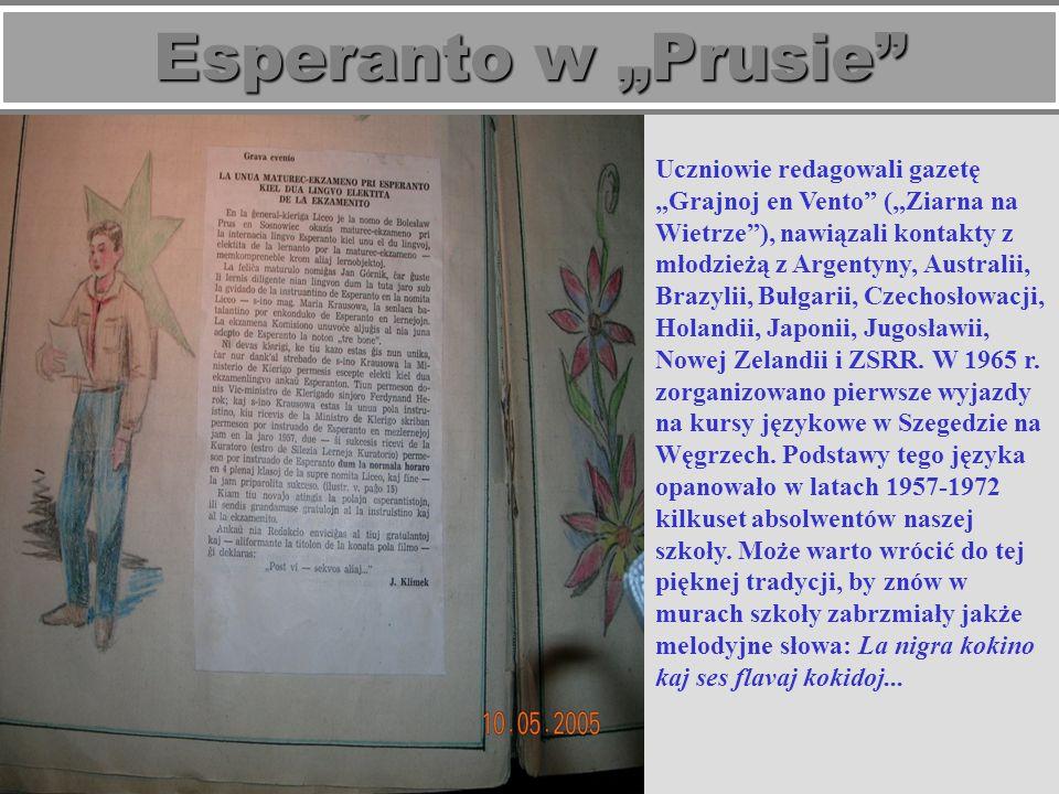 "Esperanto w ""Prusie"