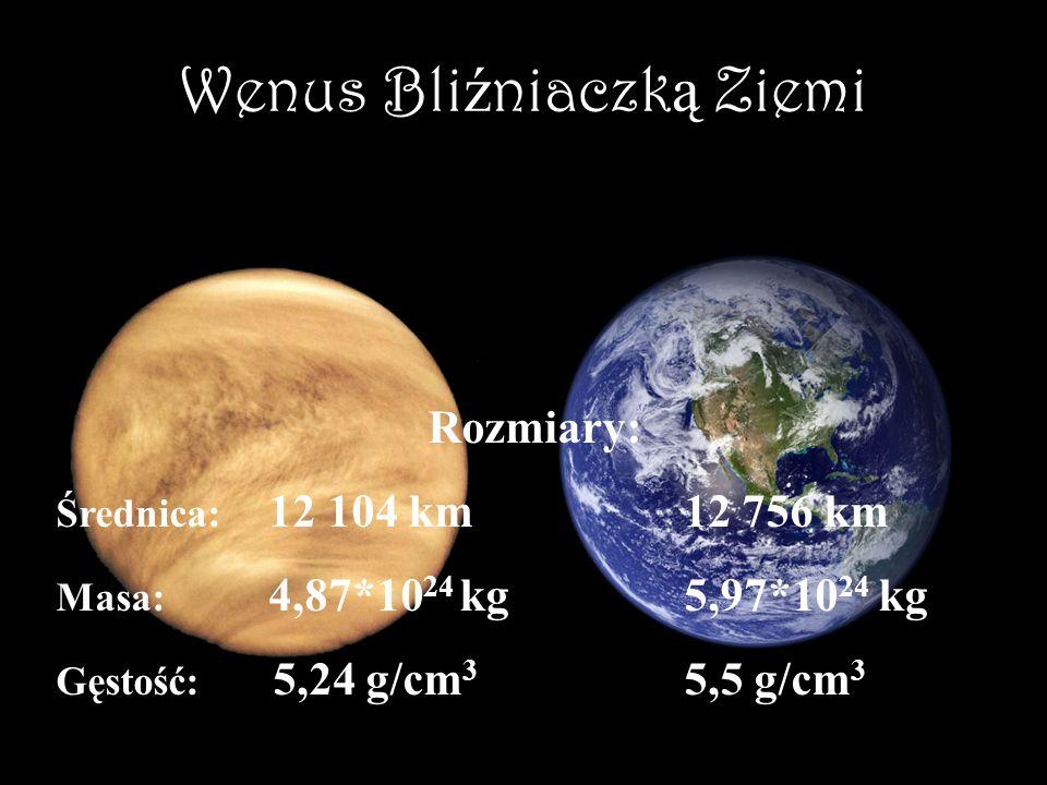 Wenus Bliźniaczką Ziemi