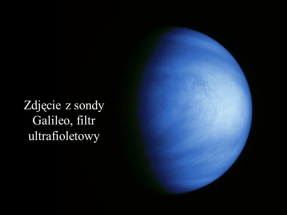 Zdjęcie z sondy Galileo, filtr ultrafioletowy