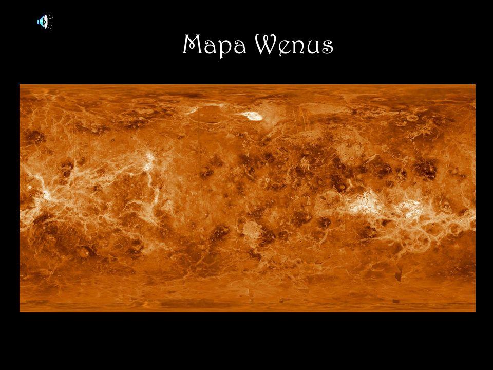 Mapa Wenus