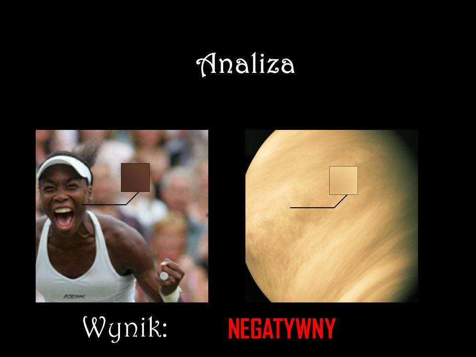 Analiza Wynik: NEGATYWNY NEGATYWMY