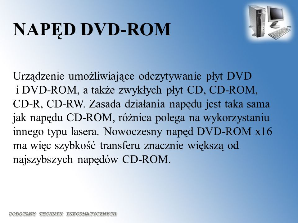 NAPĘD DVD-ROM