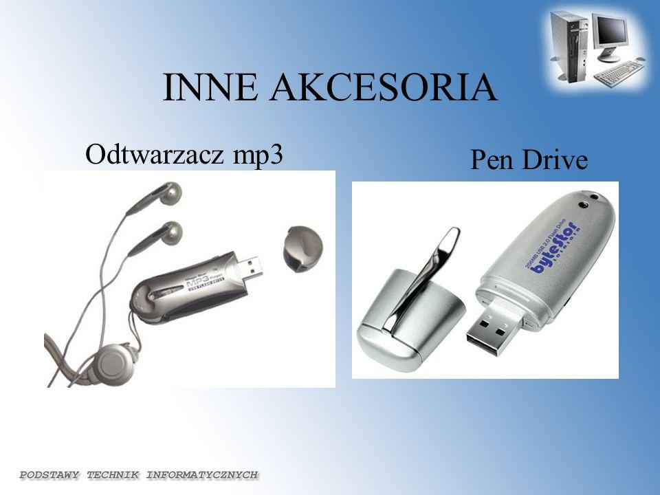 INNE AKCESORIA Odtwarzacz mp3 Pen Drive