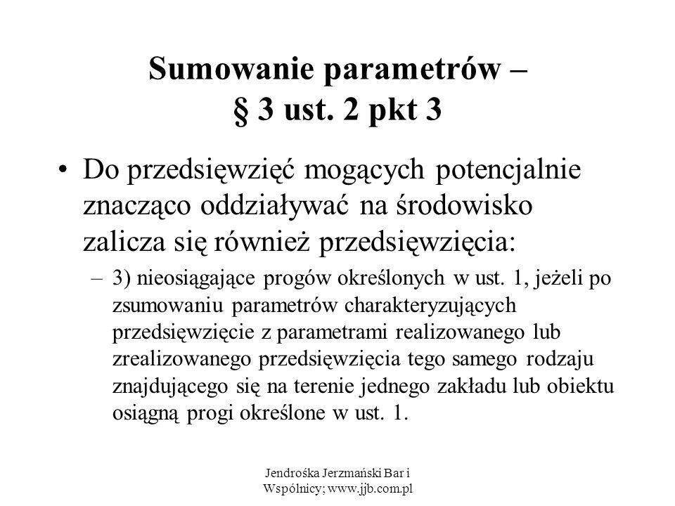 Sumowanie parametrów – § 3 ust. 2 pkt 3