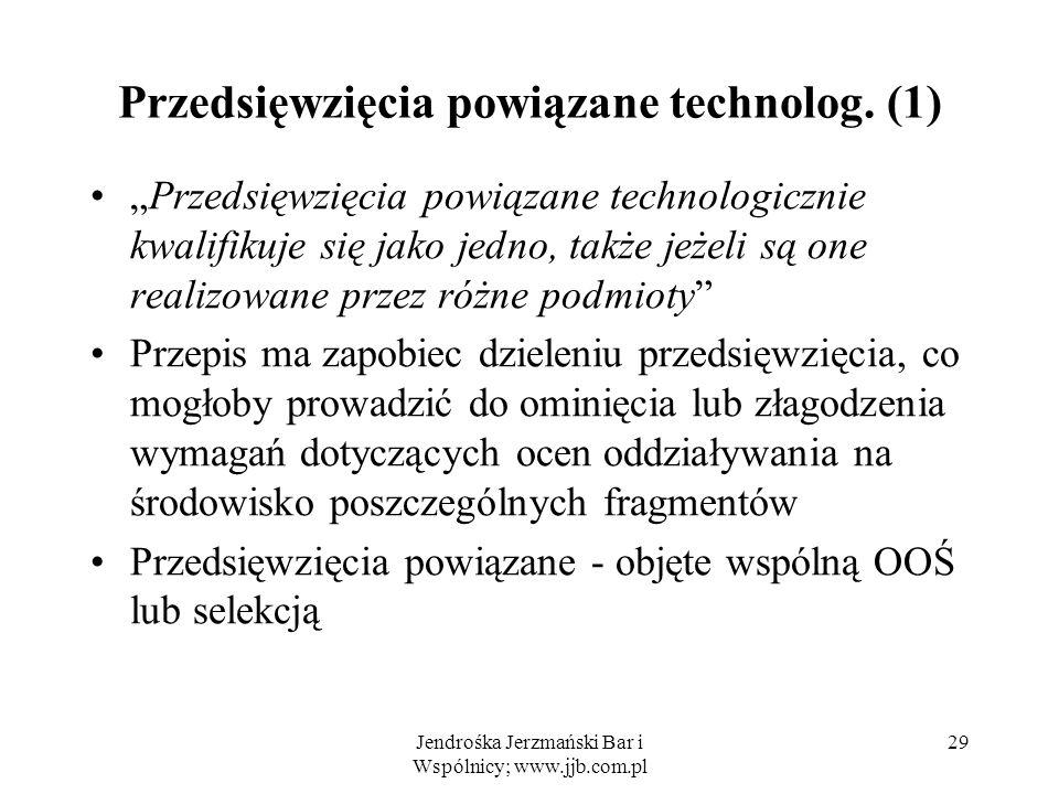 Przedsięwzięcia powiązane technolog. (1)