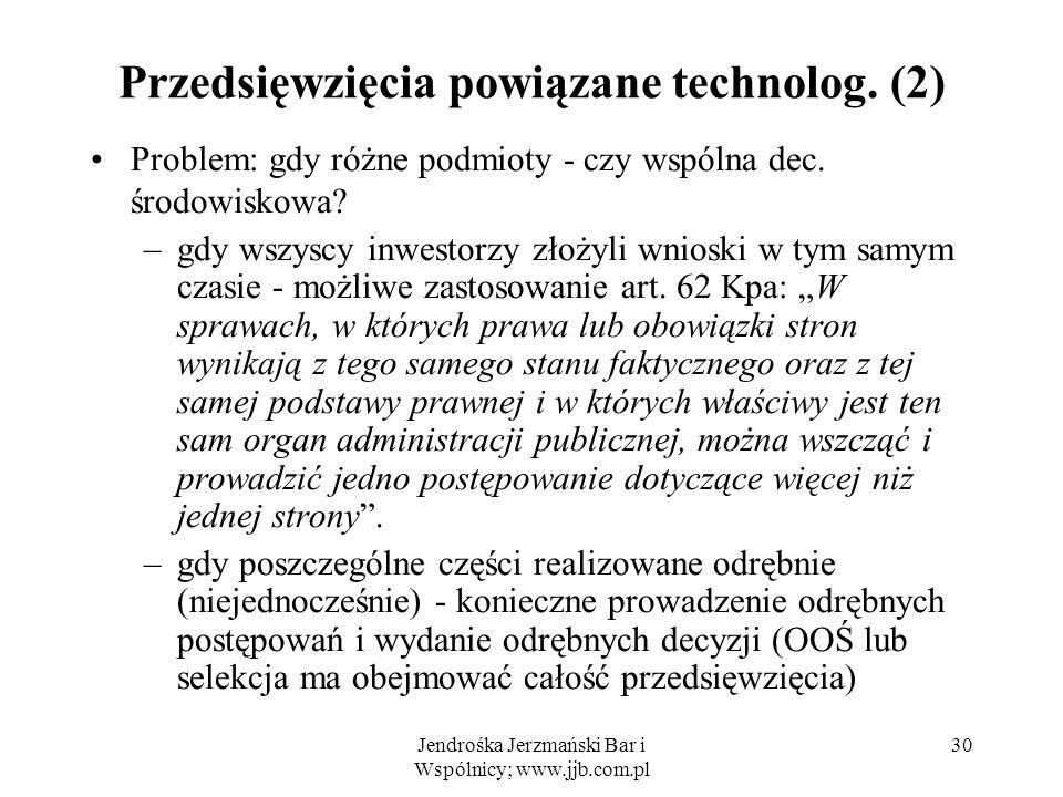 Przedsięwzięcia powiązane technolog. (2)