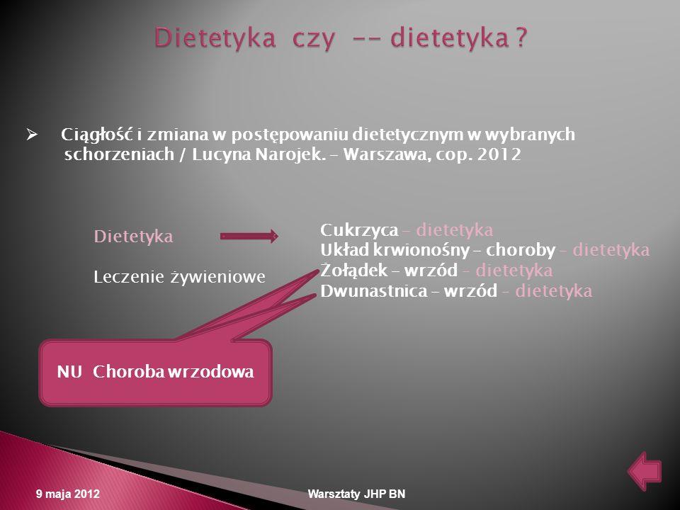 Dietetyka czy -- dietetyka