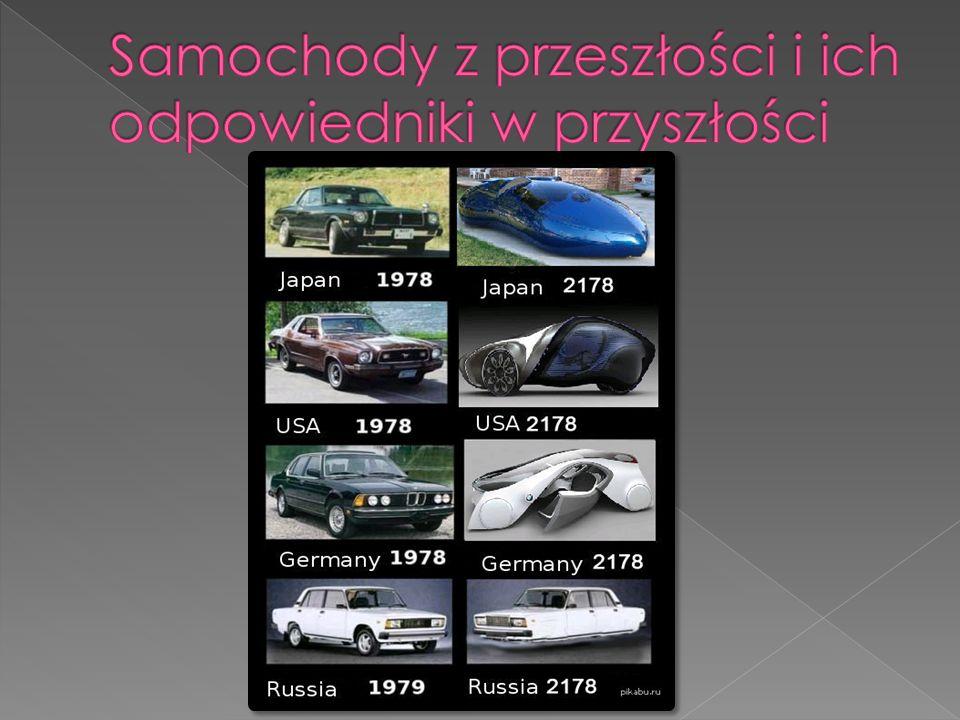 Samochody z przeszłości i ich odpowiedniki w przyszłości