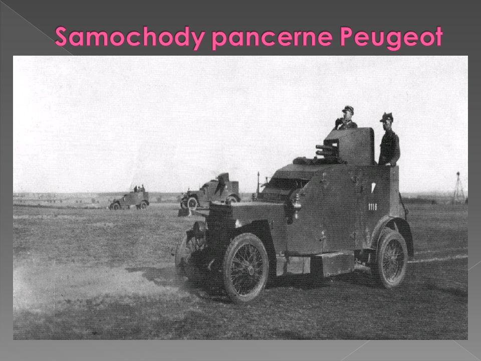 Samochody pancerne Peugeot