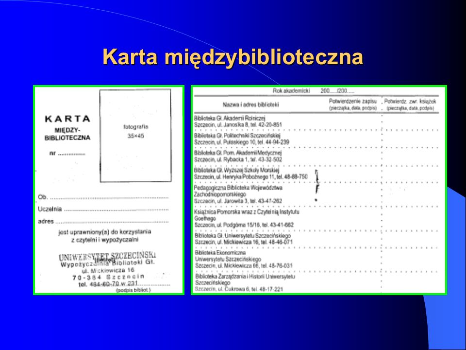 Karta międzybiblioteczna