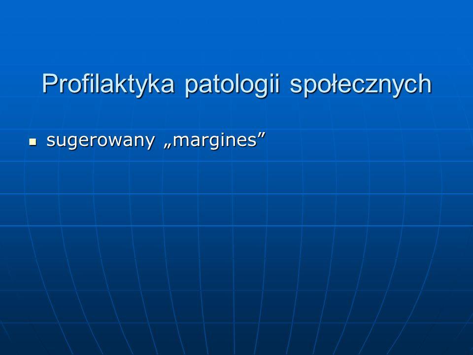Profilaktyka patologii społecznych