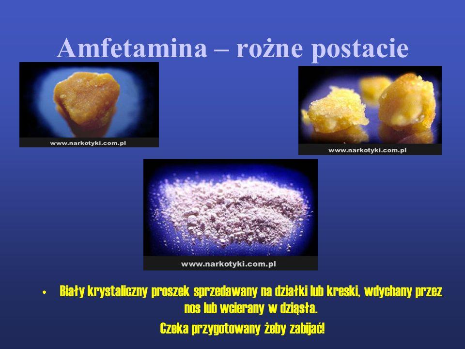 Amfetamina – rożne postacie