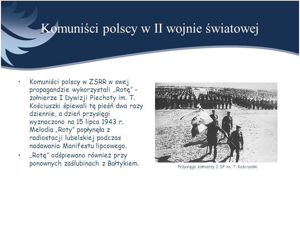 Komuniści polscy w II wojnie światowej