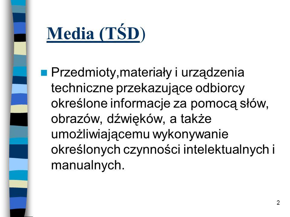 Media (TŚD)