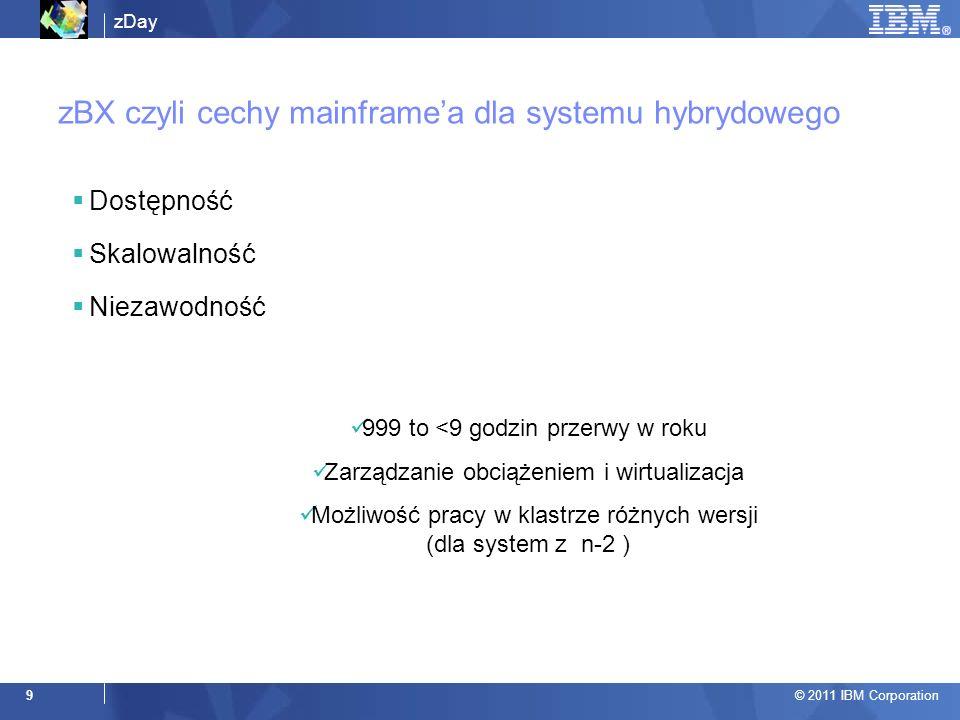zBX czyli cechy mainframe'a dla systemu hybrydowego
