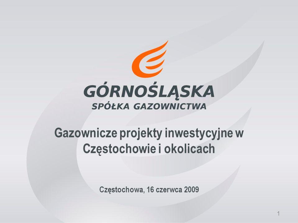 Gazownicze projekty inwestycyjne w Częstochowie i okolicach