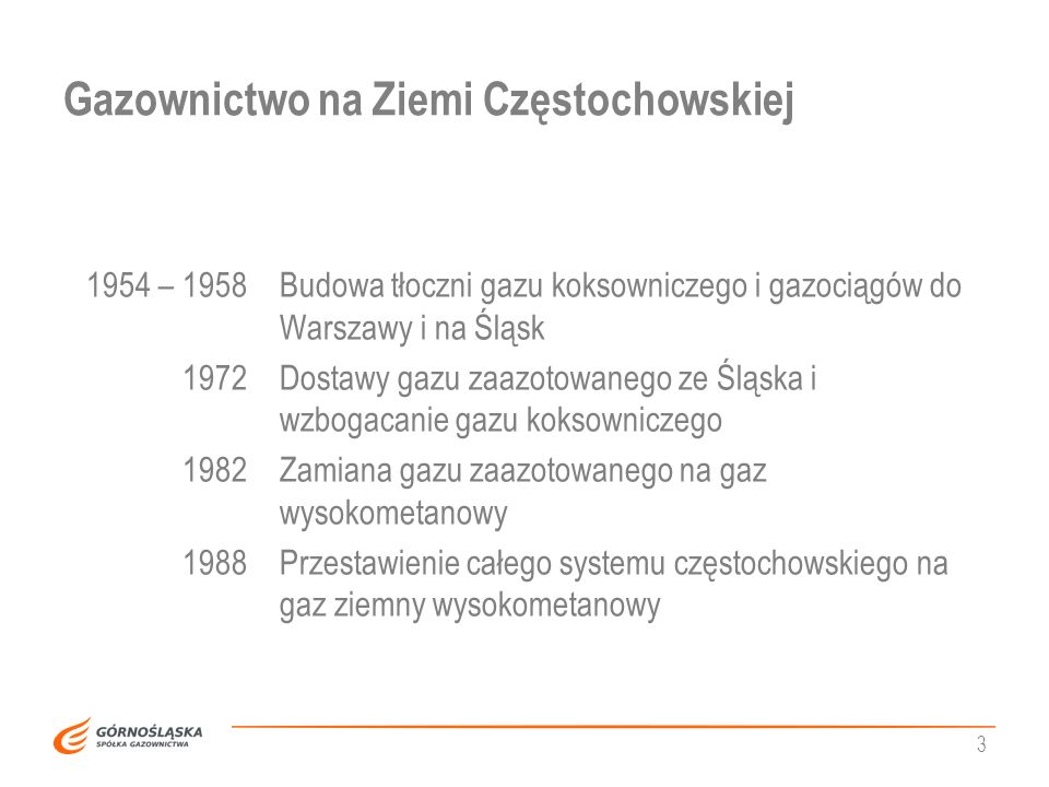 Gazownictwo na Ziemi Częstochowskiej