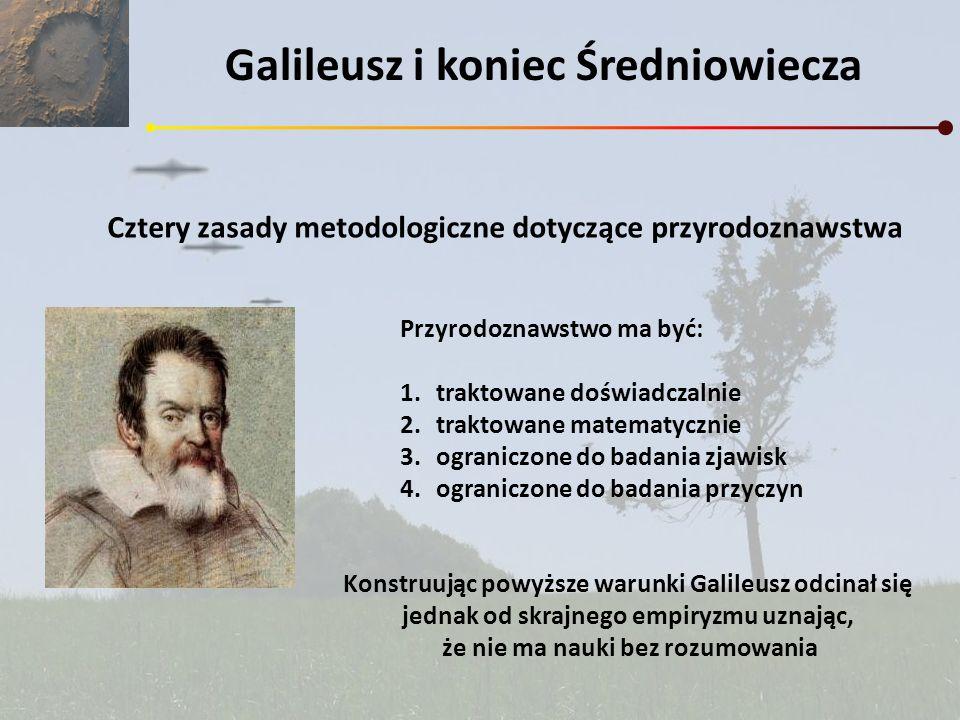Galileusz i koniec Średniowiecza