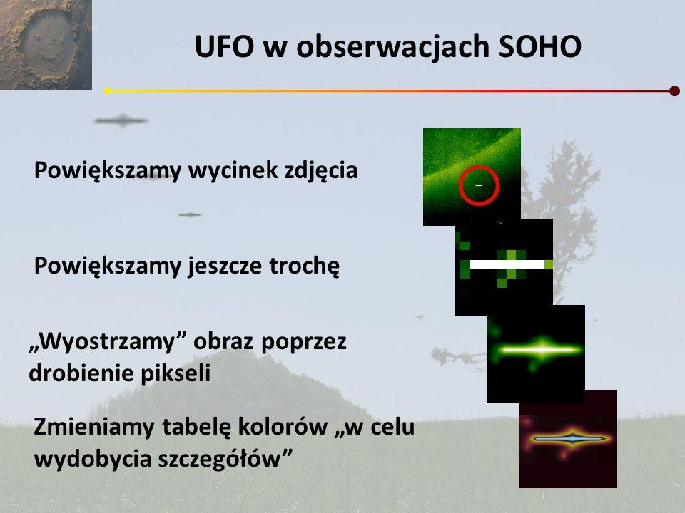 UFO w obserwacjach SOHO
