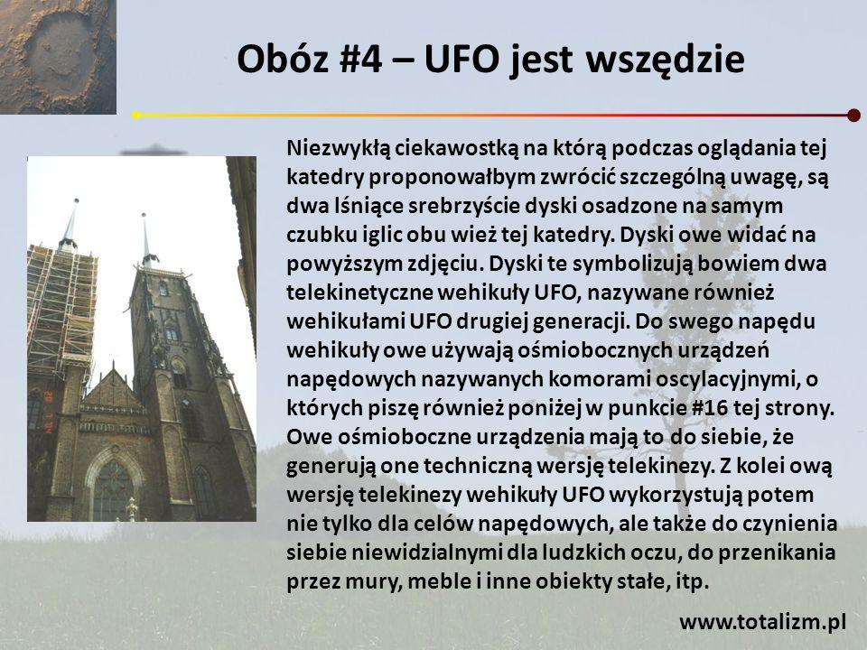 Obóz #4 – UFO jest wszędzie