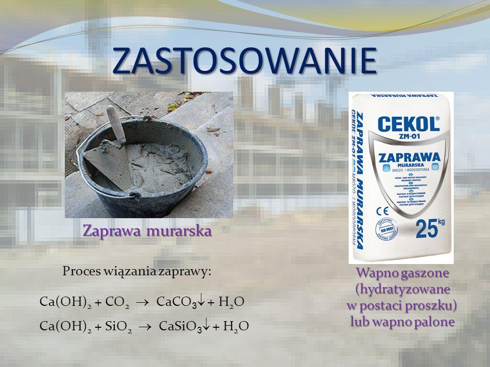 Wapno gaszone (hydratyzowane