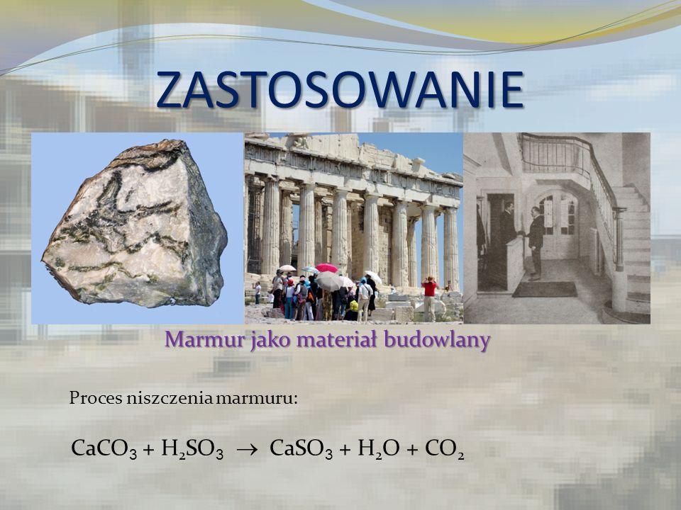 ZASTOSOWANIE Marmur jako materiał budowlany