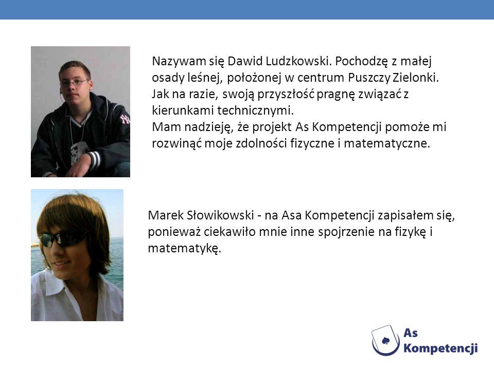 Nazywam się Dawid Ludzkowski
