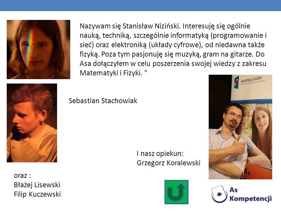 Nazywam się Stanisław Niziński