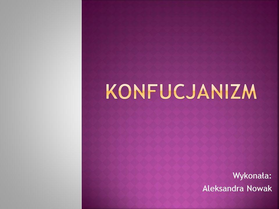 Wykonała: Aleksandra Nowak