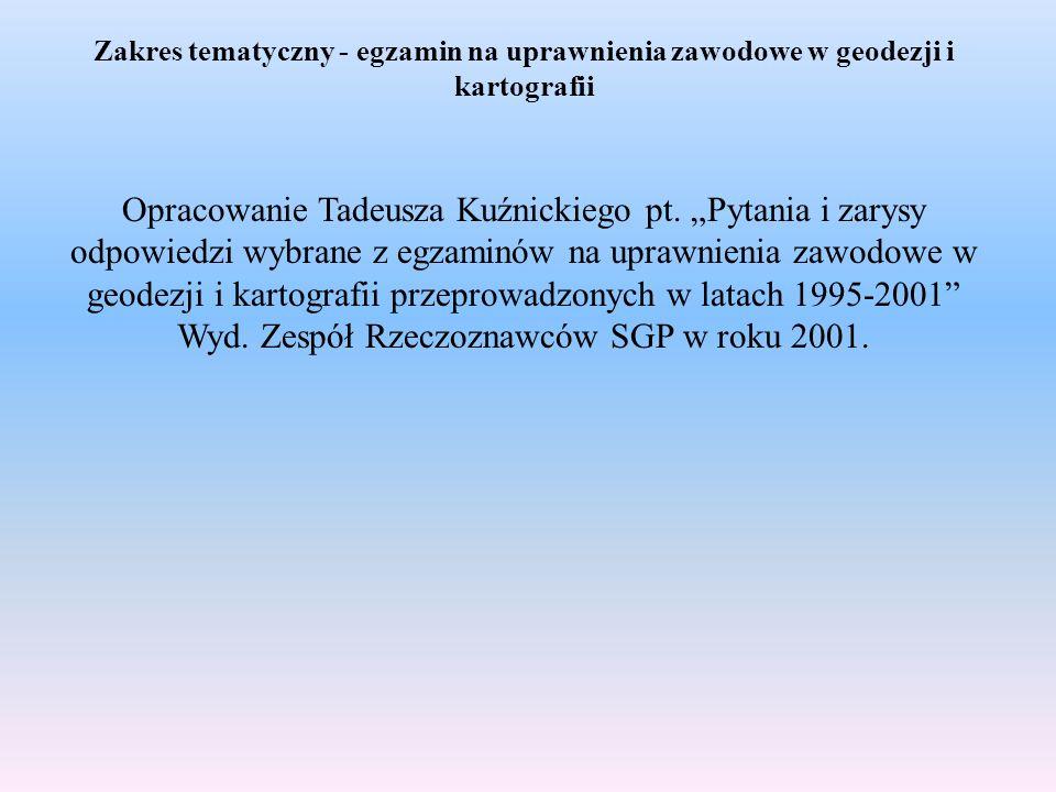Wyd. Zespół Rzeczoznawców SGP w roku 2001.