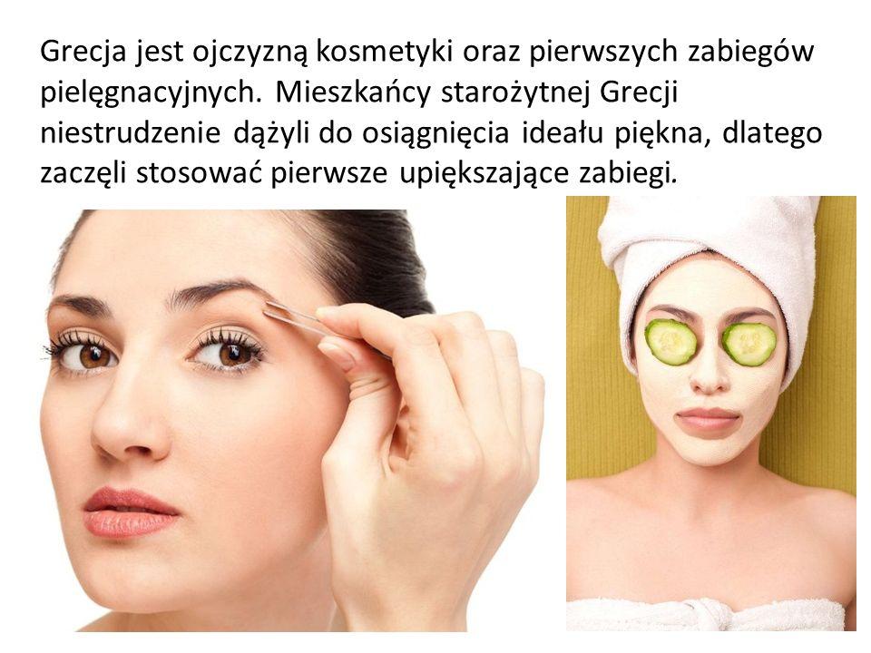Grecja jest ojczyzną kosmetyki oraz pierwszych zabiegów pielęgnacyjnych.