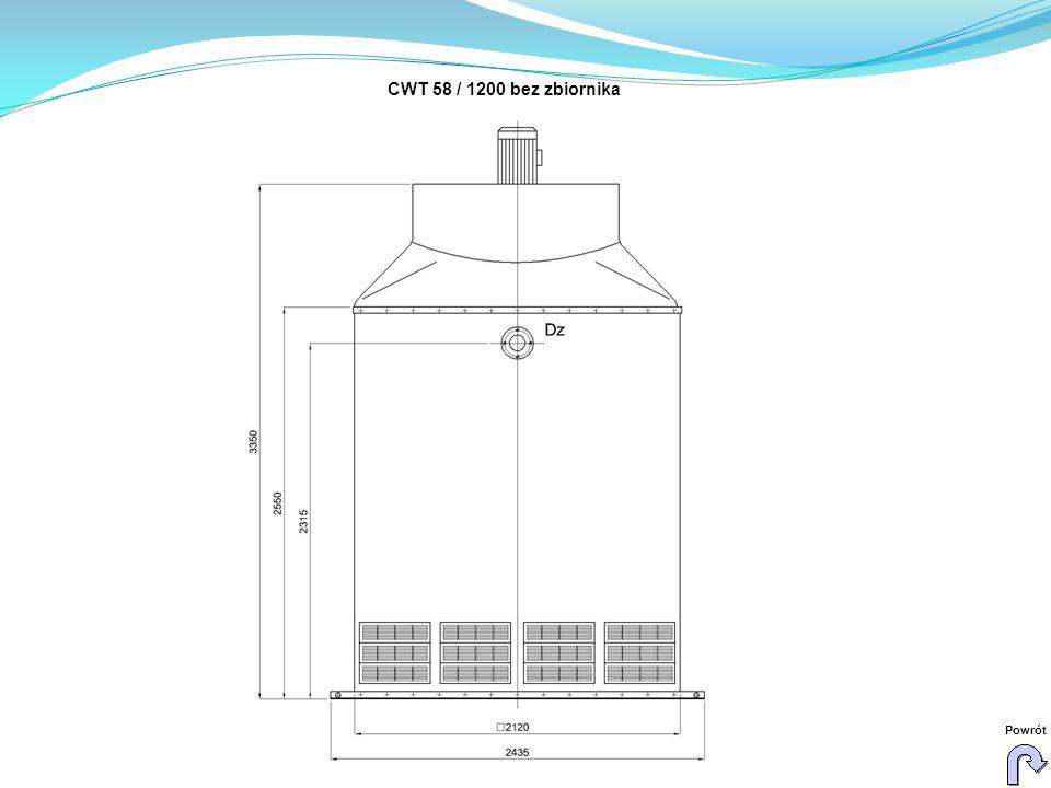 CWT 58 / 1200 bez zbiornika Powrót