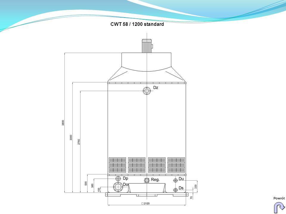 CWT 58 / 1200 standard Powrót
