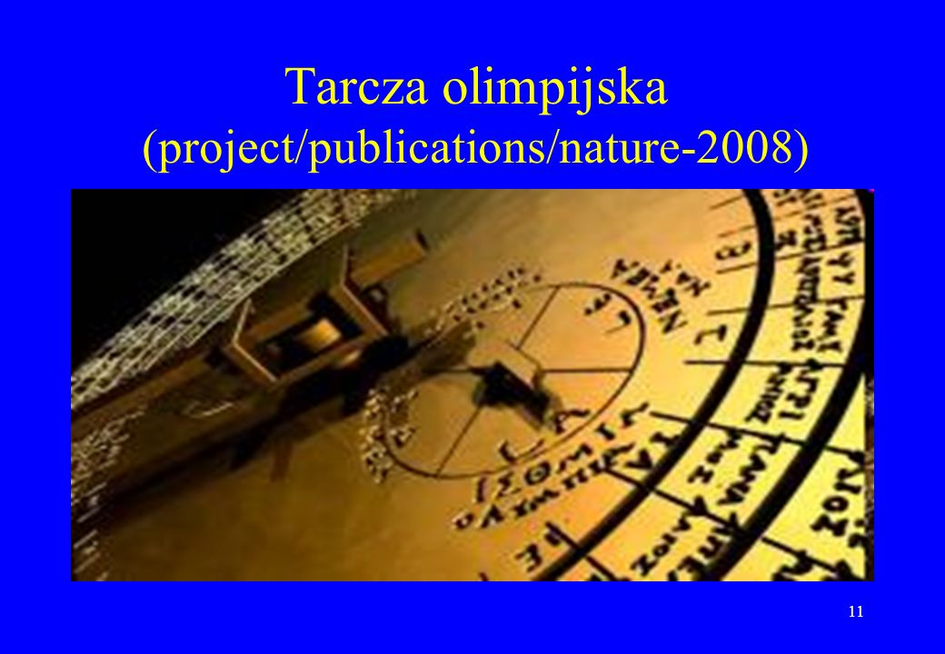 Tarcza olimpijska (project/publications/nature-2008)