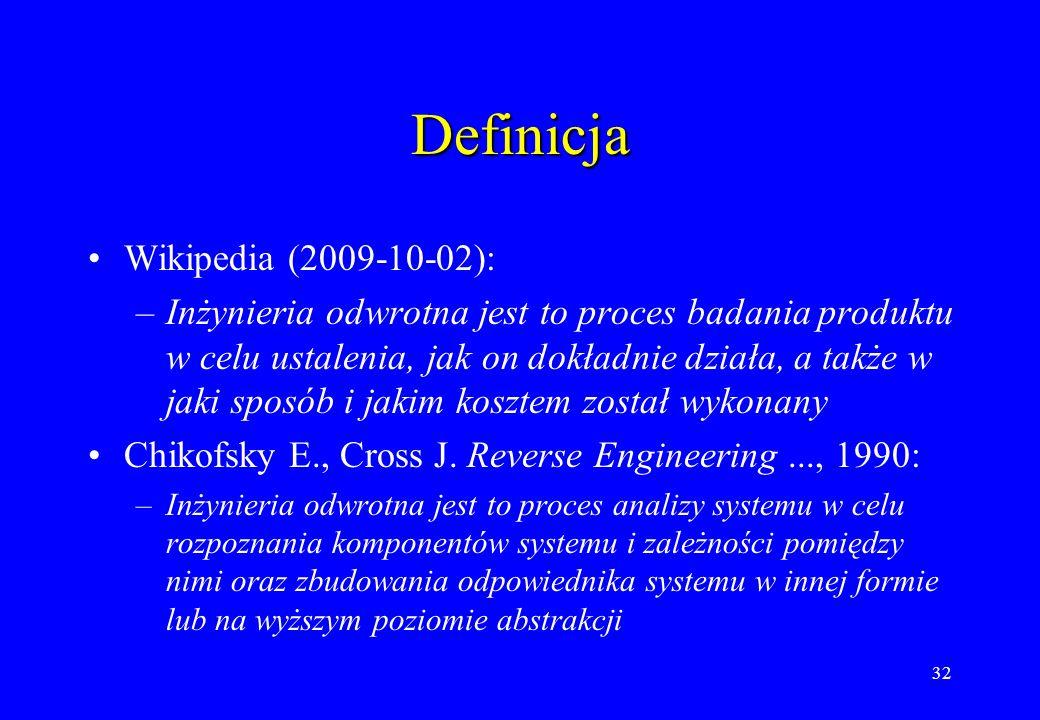Definicja Wikipedia (2009-10-02):