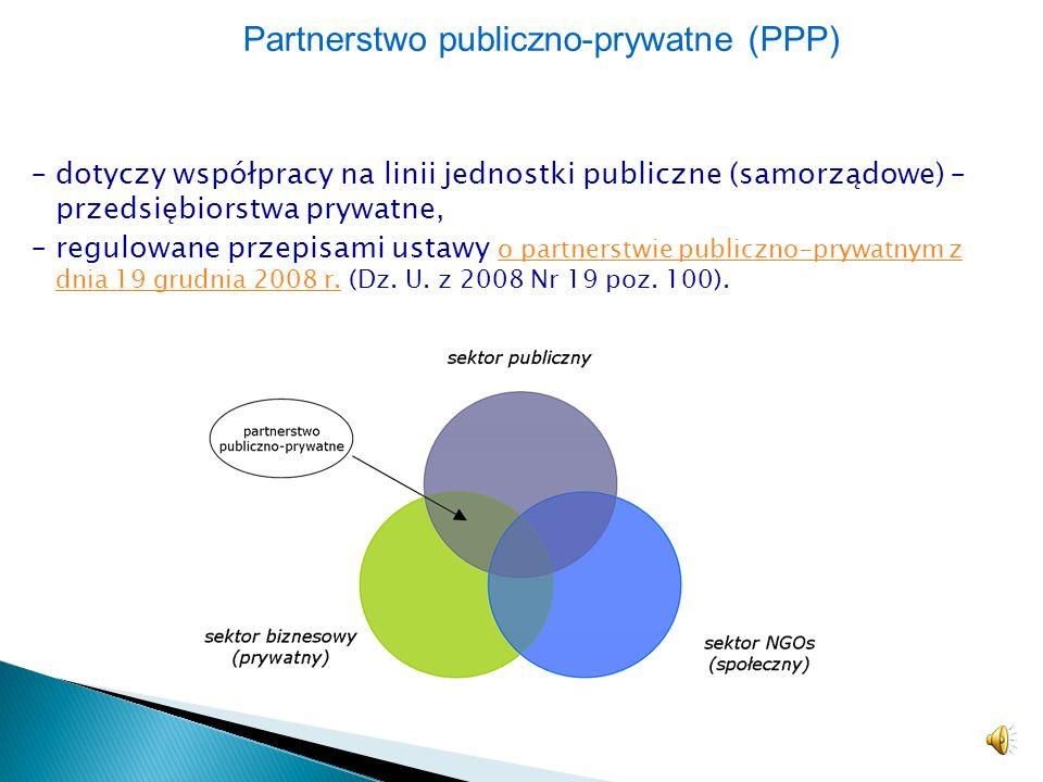 Partnerstwo publiczno-prywatne (PPP)