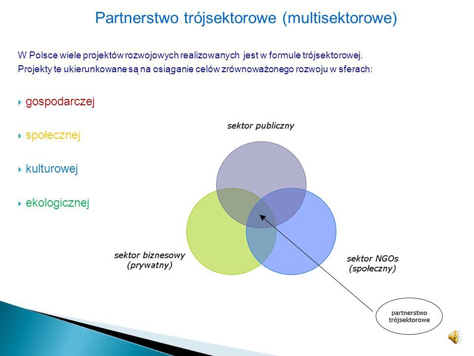 Partnerstwo trójsektorowe (multisektorowe)