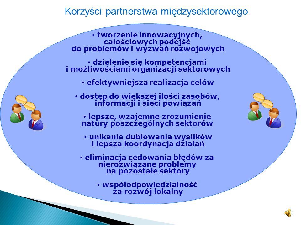 Korzyści partnerstwa międzysektorowego