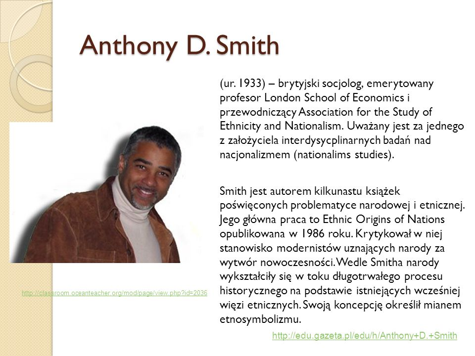 Anthony D. Smith