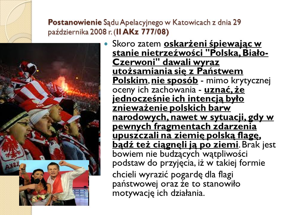 Postanowienie Sądu Apelacyjnego w Katowicach z dnia 29 października 2008 r. (II AKz 777/08)