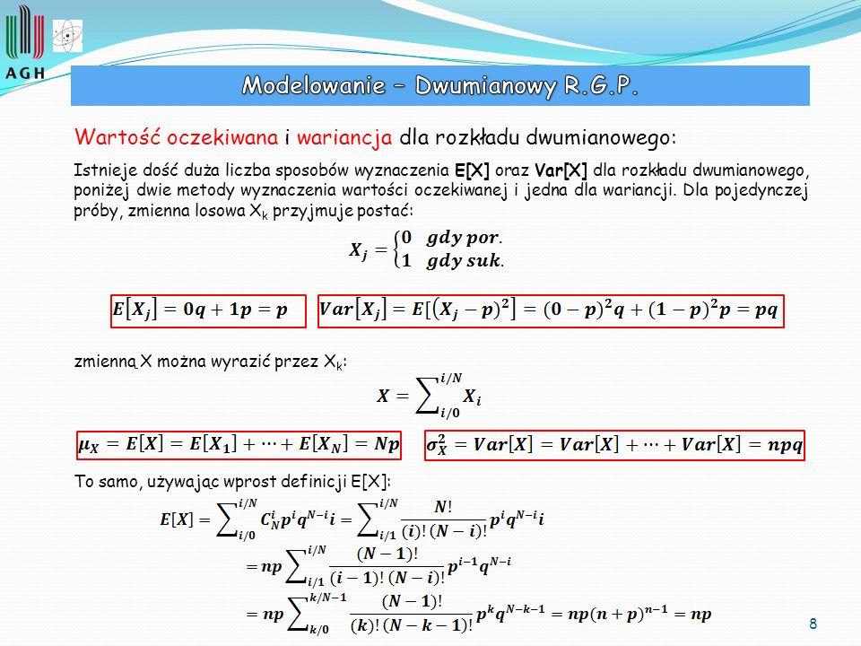 Modelowanie – Dwumianowy R.G.P.