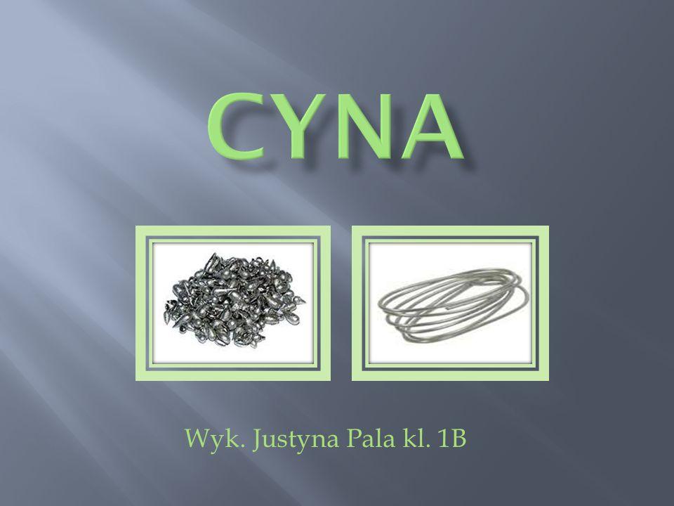 CYNA Wyk. Justyna Pala kl. 1B
