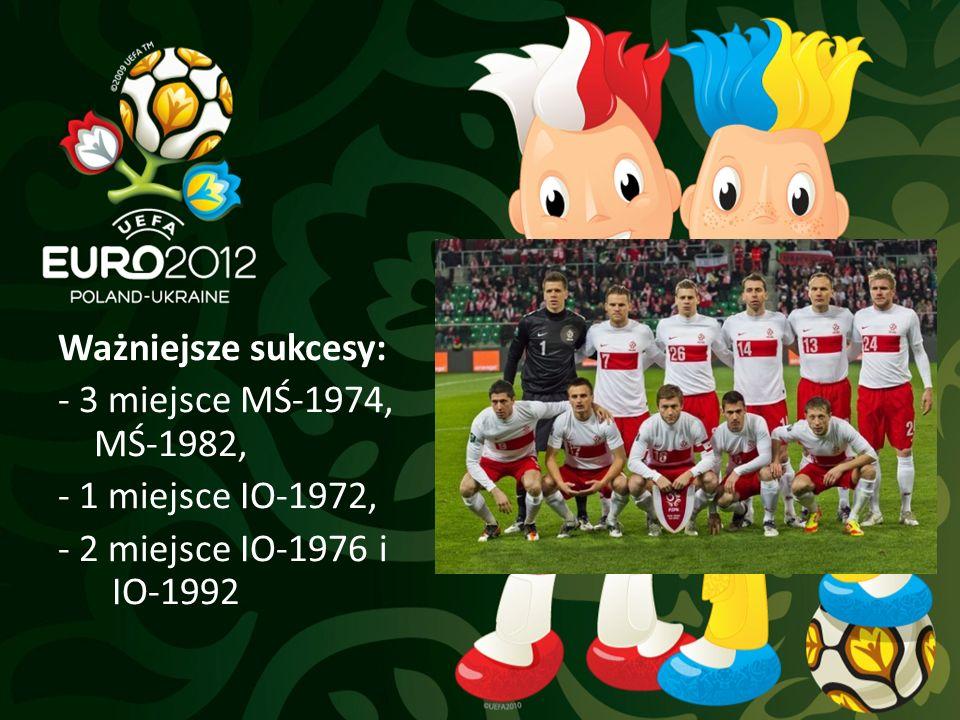 Ważniejsze sukcesy: - 3 miejsce MŚ-1974, MŚ-1982, - 1 miejsce IO-1972, - 2 miejsce IO-1976 i IO-1992
