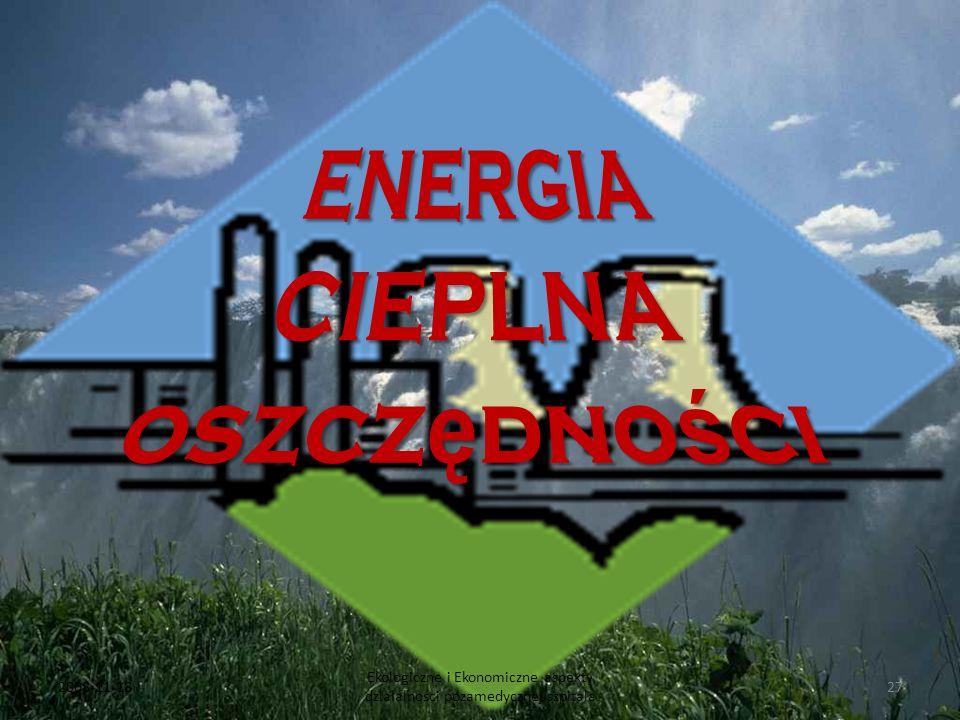 ENERGIA CIEPLNA oszczędności