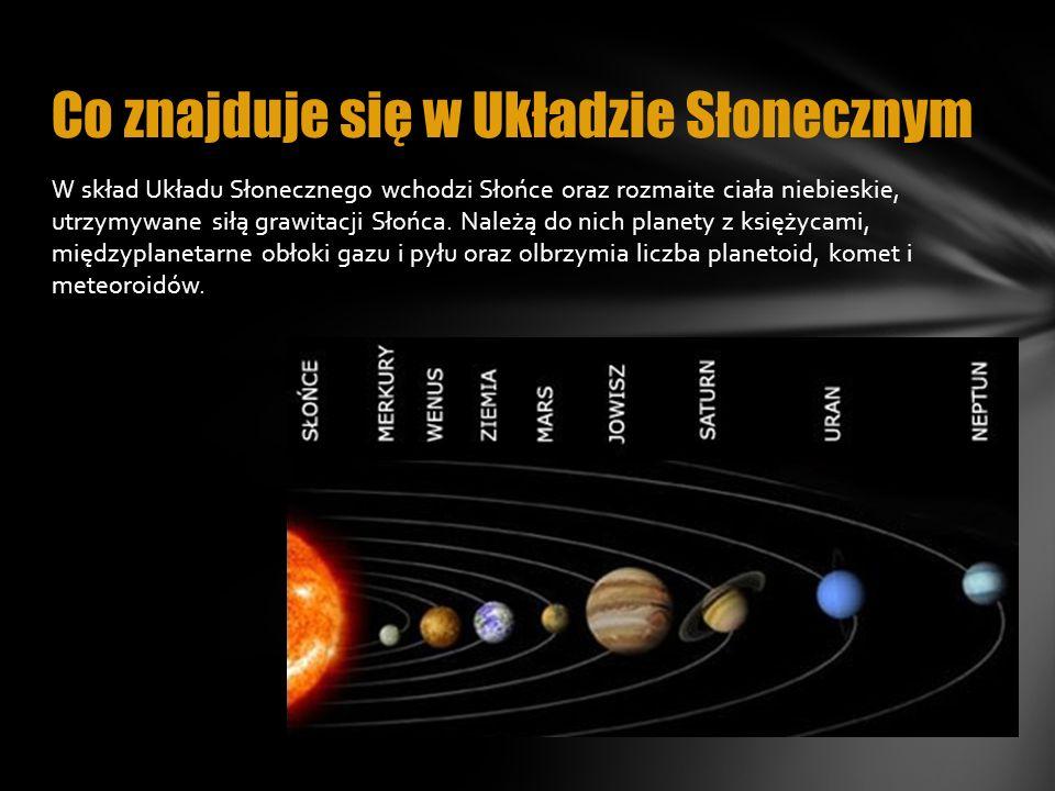 Co znajduje się w Układzie Słonecznym