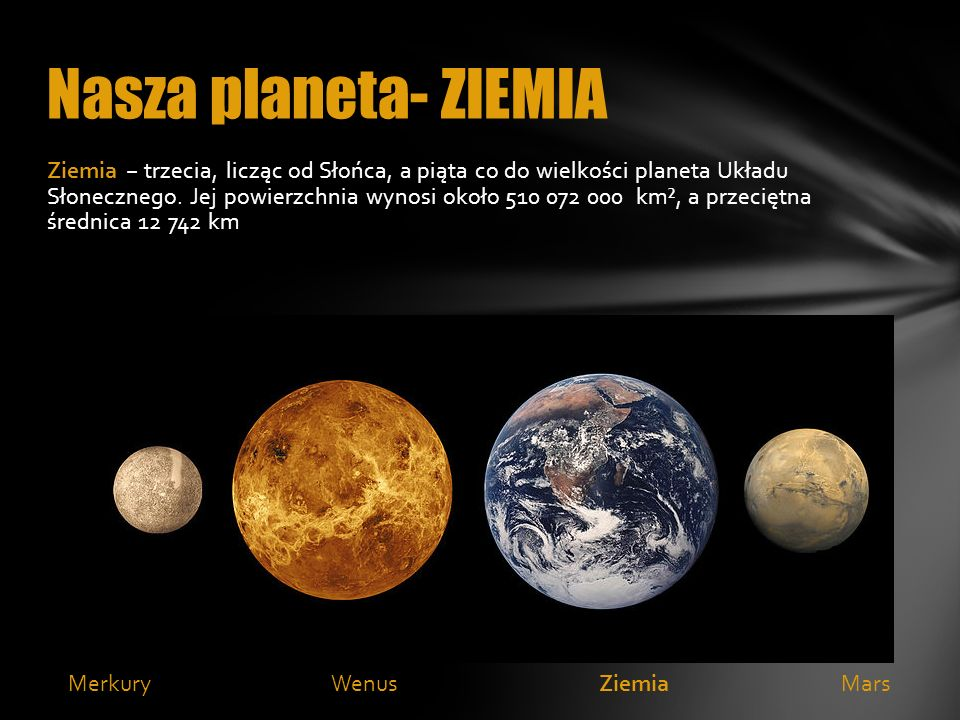 Nasza planeta- ZIEMIA