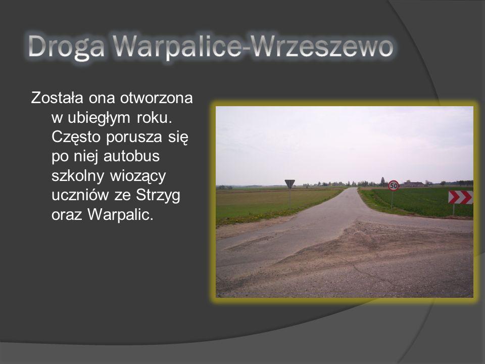 Droga Warpalice-Wrzeszewo