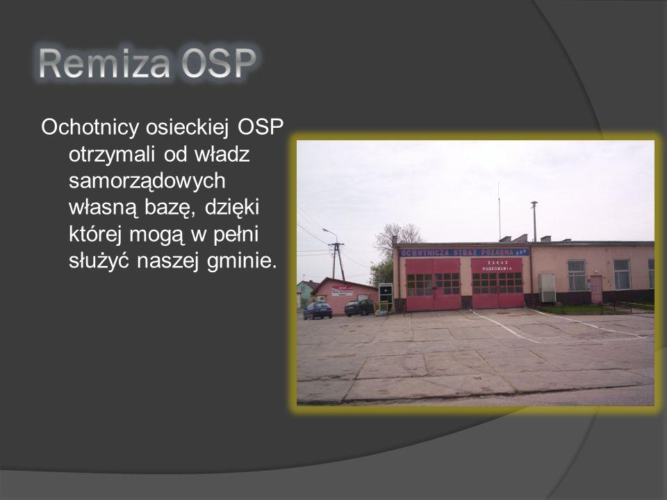 Remiza OSP Ochotnicy osieckiej OSP otrzymali od władz samorządowych własną bazę, dzięki której mogą w pełni służyć naszej gminie.