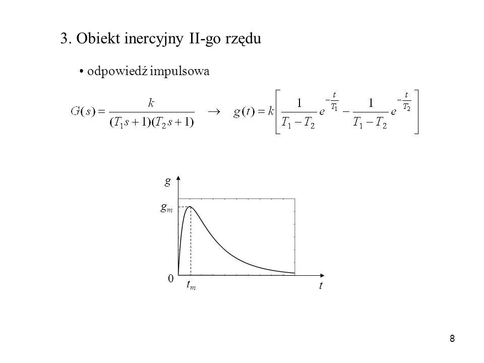 3. Obiekt inercyjny II-go rzędu