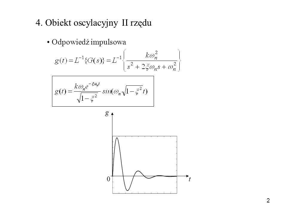 4. Obiekt oscylacyjny II rzędu